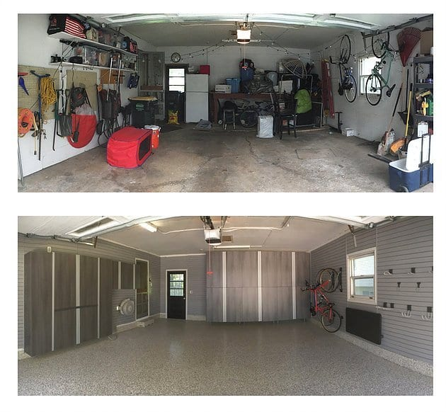 Garage Makeovers – Before and After Pics Tell the Story