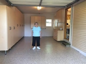 My 90 Year Old Mom Get's a Garage Makeover